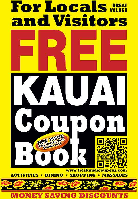 Discount coupons kauai activities